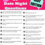 20 Sexy Date Night Questions   Free Printable | Get 2 Know U   Free Printable Compatibility Test For Couples