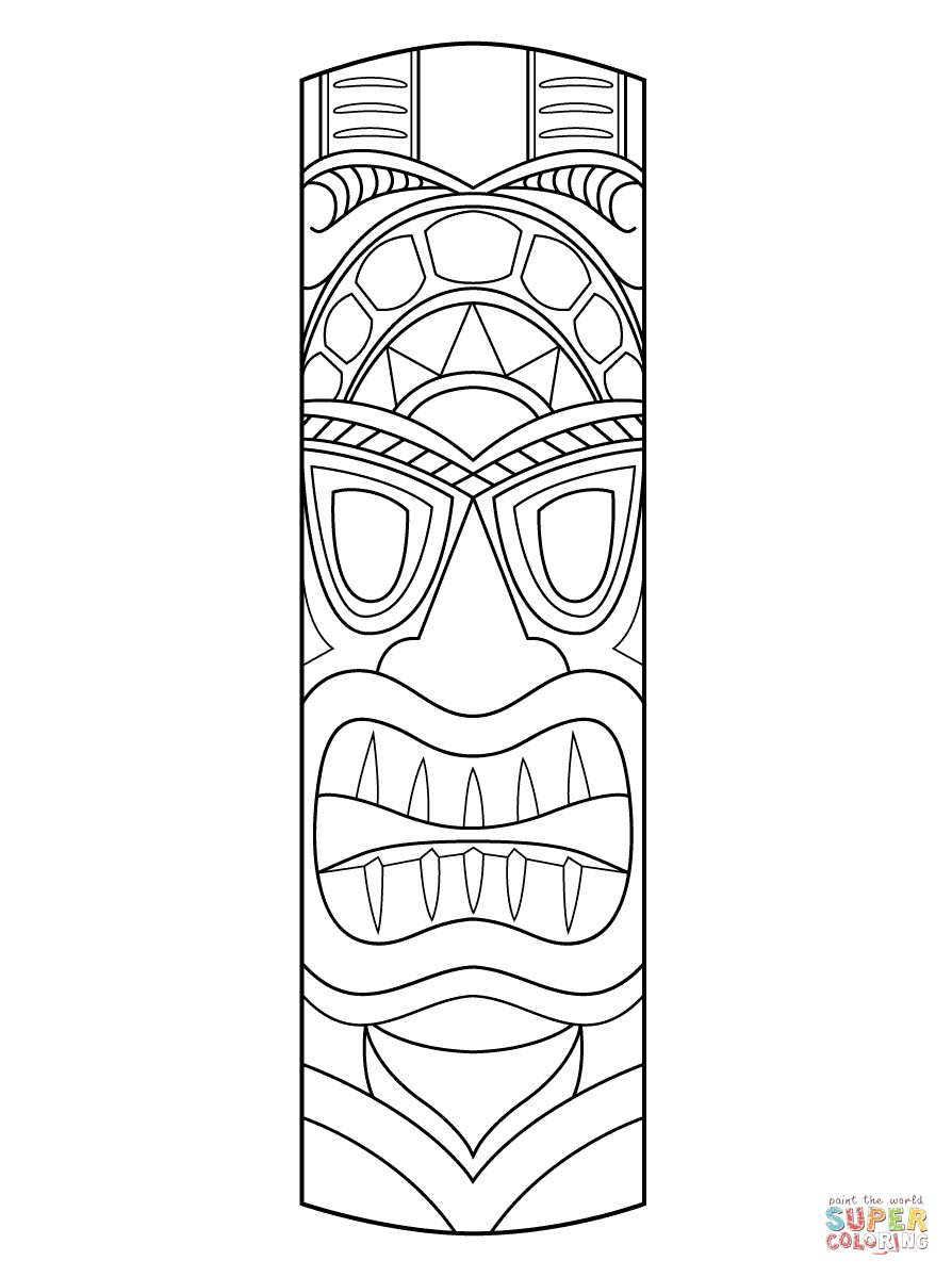 20 Tiki Coloring Pages | Topsailmultimedia - Tiki Coloring Pages Free Printables