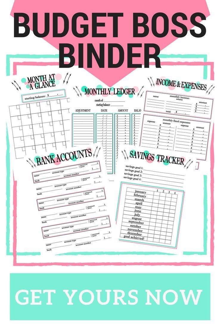 2017 Budget Binder Printables! Get Your Free Budget Binder To Become - Budget Binder Printables 2017 Free