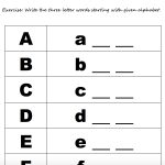 208 Free Alphabet Worksheets   Learning To Write Letters Free Printables