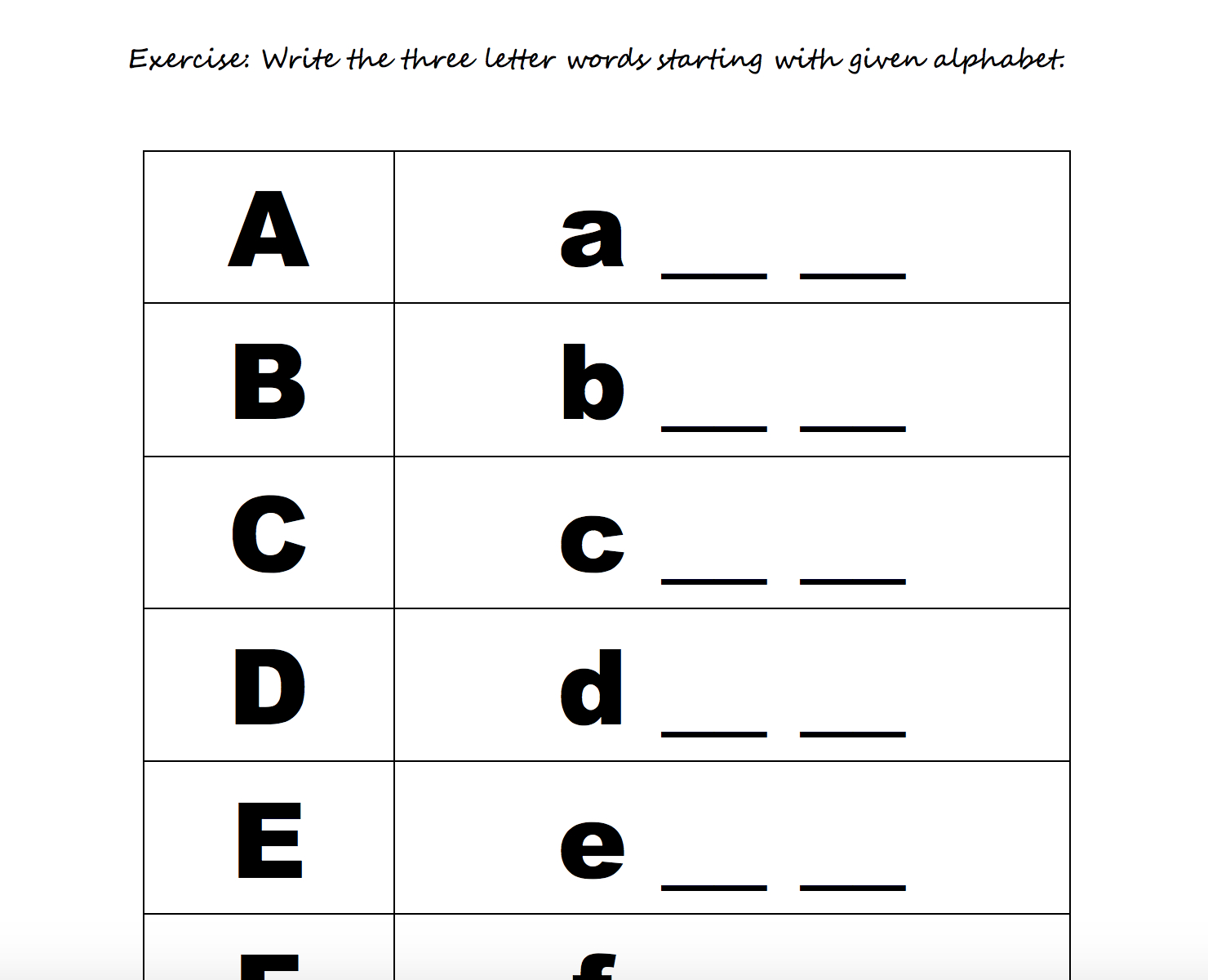 208 Free Alphabet Worksheets - Learning To Write Letters Free Printables