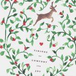 21 Free, Printable Christmas Cards To Send To Everyone   Free Printable Flat Christmas Cards