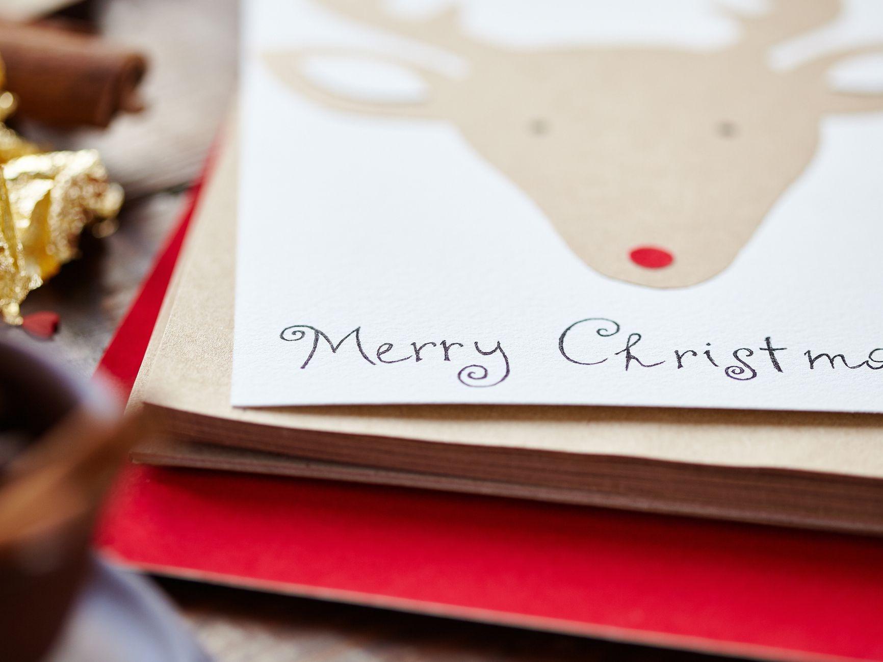 21 Free, Printable Christmas Cards To Send To Everyone - Free Printable Flat Christmas Cards