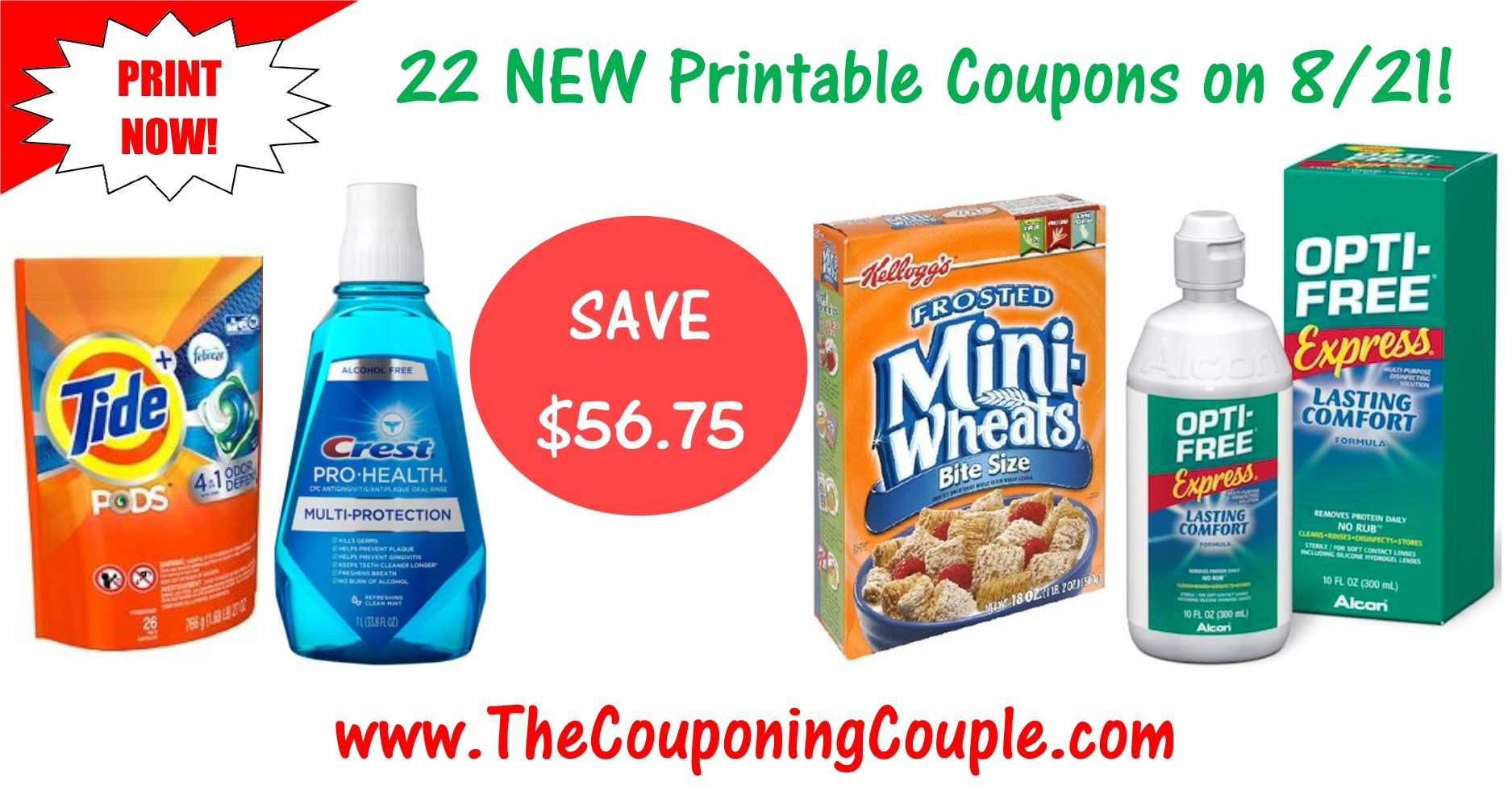 22 New Printable Coupons ~ Tide, Gain, Gillette, Crest & More! - Free Printable Gillette Coupons