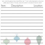 23 Free Printables To Organize Everything | Making Lemonade   Free Home Organization Printables