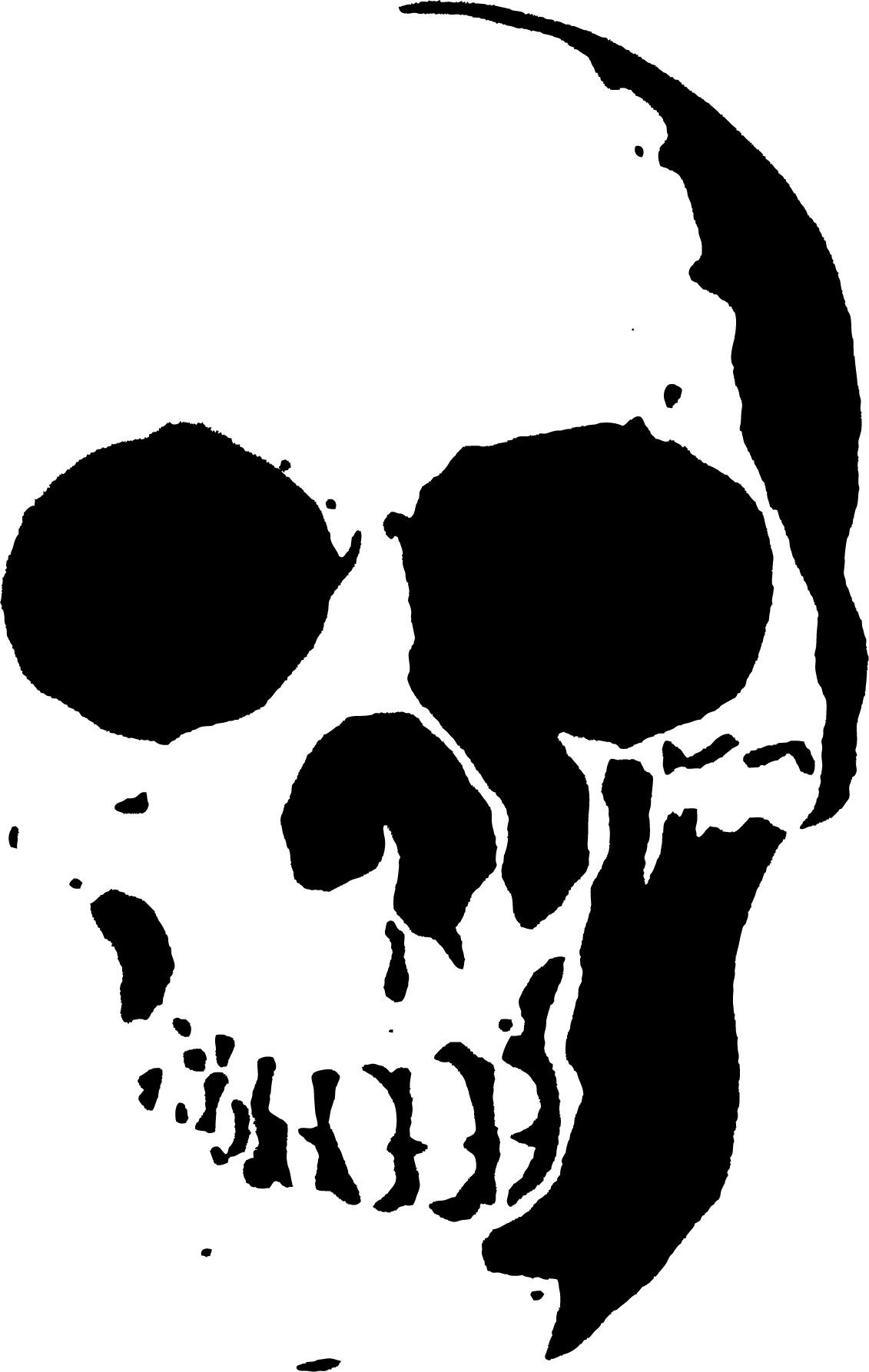 23 Free Skull Stencil Printable Templates | Guide Patterns - Skull Stencils Free Printable