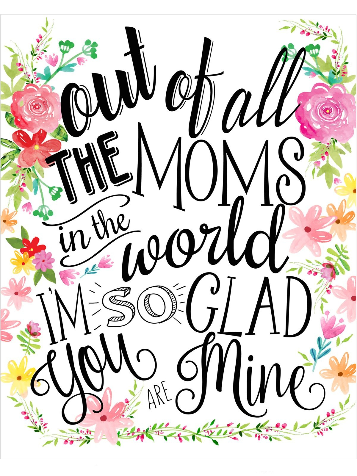 23 Mothers Day Cards - Free Printable Mother's Day Cards - Free Printable Mothers Day Cards To My Wife