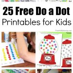 25 Free Do A Dot Printables For Kids To Play And Learn With   Do A Dot Art Pages Free Printable
