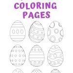 25+ Free Printable Easter Egg Templates & Easter Egg Coloring Pages   Easter Egg Coloring Pages Free Printable