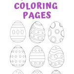 25+ Free Printable Easter Egg Templates & Easter Egg Coloring Pages   Free Printable Easter Pages