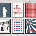 25+ July 4Th Free Printables • Little Gold Pixel   Free 4Th Of July Printables