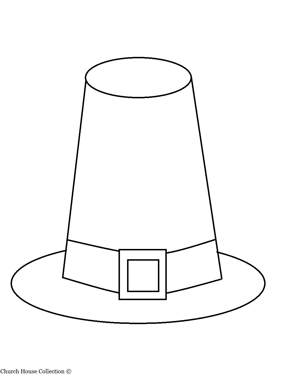 26 Images Of Pilgrim Hat Template For Drawing | Zeept - Free Printable Pilgrim Hat Pattern