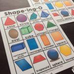 2D And 3D Shapes Bingo | Math For First Grade | 2D, 3D Shapes   3D Shape Bingo Free Printable