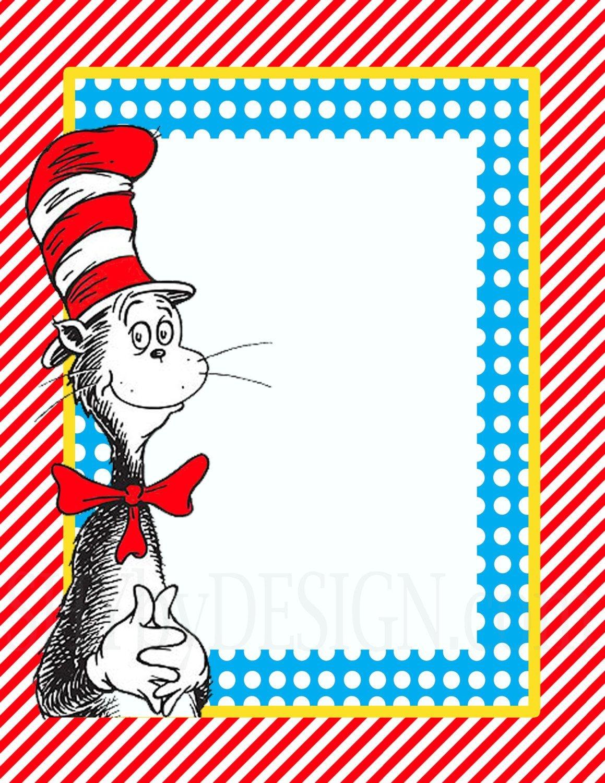 3 Diy Printable Dr. Seuss Sign Templates | Travel Theme | Dr Seuss - Dr Seuss Free Printable Templates