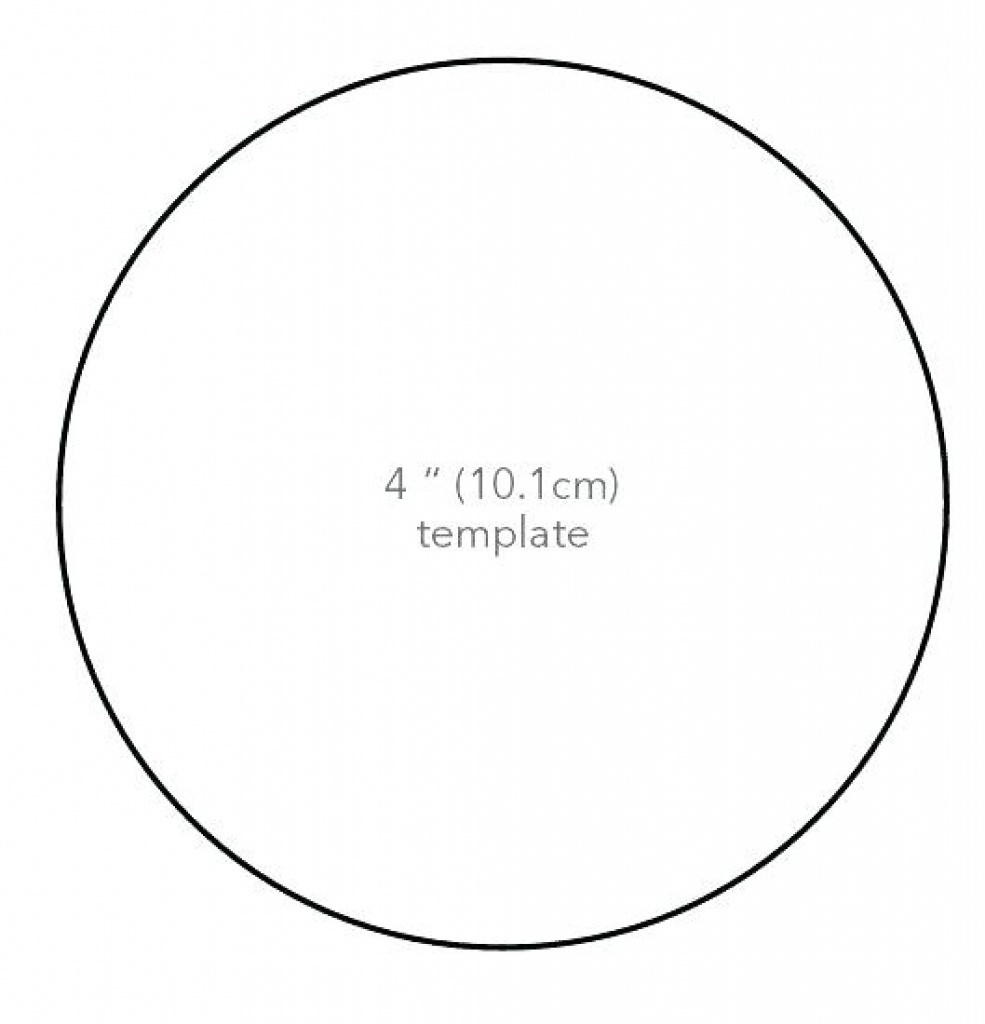 3 Inch Circle Template Printable - Floss Papers - Free Printable 6 Inch Circle Template