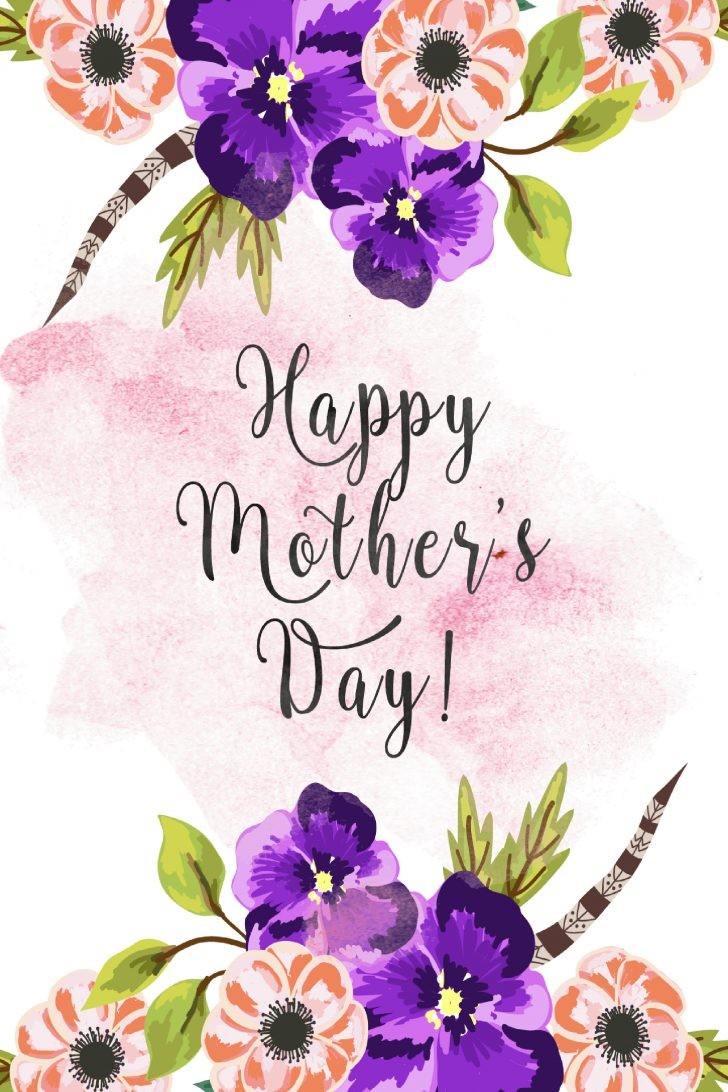 Free Printable Mothers Day Cards From Husband