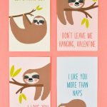 30+ Free Printable Valentine Cards   Happiness Is Homemade   Free Printable Cat Valentine Cards
