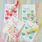 30 Super Cool Printable Valentine's Cards For The Classroom   Free Printable School Valentines Cards