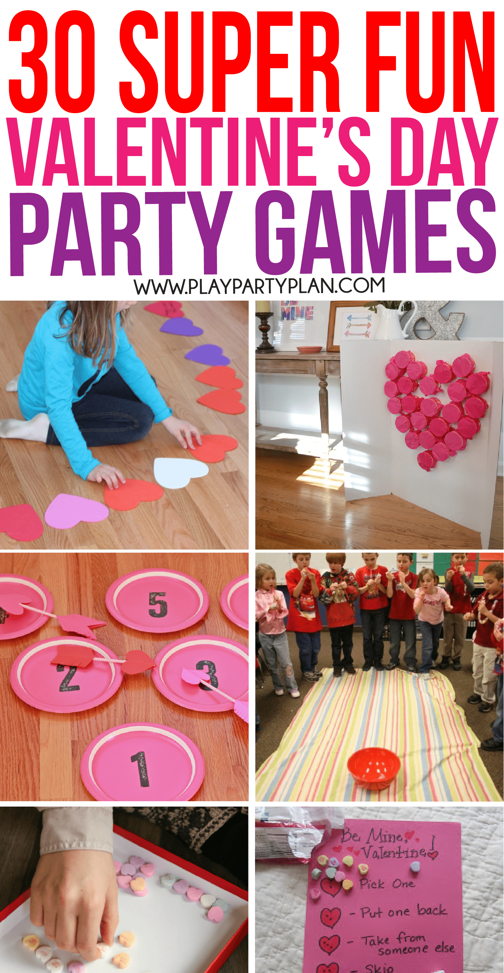 30 Valentine's Day Games Everyone Will Absolutely Love - Play Party Plan - Free Printable Valentine Party Games For Adults
