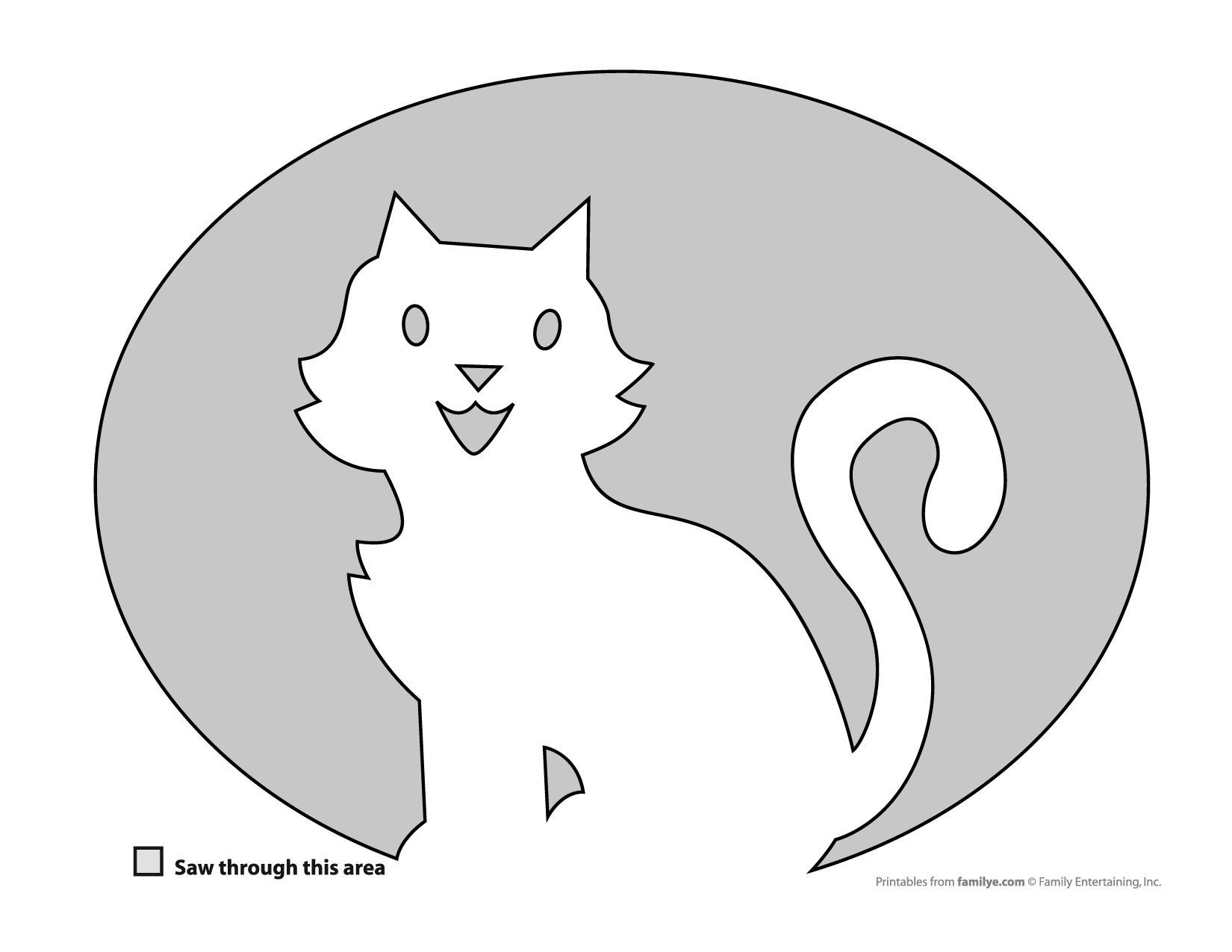 31 Free Pumpkin Carving Stencils Of Cats For A Purrfect Halloween - Free Printable Pumpkin Carving Stencils For Kids