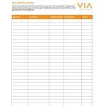 32 Free Bill Pay Checklists & Bill Calendars (Pdf, Word & Excel)   Free Printable Bill Checklist
