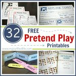 32 Free Pretend Play Printables   My Joy Filled Life   Post Office Dramatic Play Free Printables