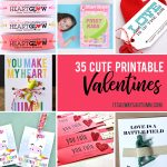 35 Adorable Diy Valentine's Cards To Print At Home For Your Kids   Free Printable School Valentines Cards