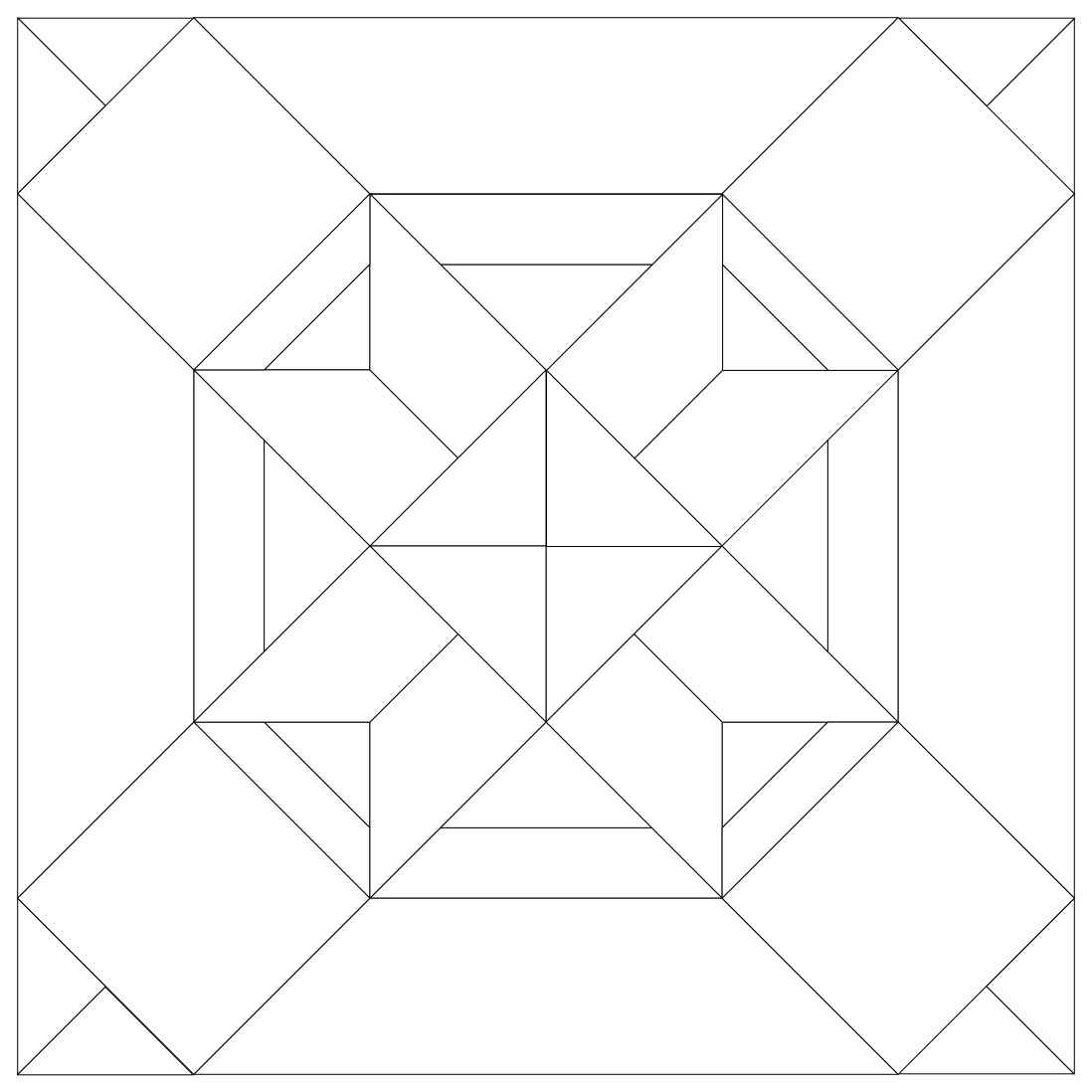 35 Cool Paper Piecing Patterns | Guide Patterns - Free Printable Paper Piecing Patterns For Quilting