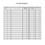 37 Checkbook Register Templates [100% Free, Printable] ᐅ Template Lab   Free Printable Check Register Templates