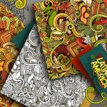 39+ Doodle Patterns & Backgrounds | Free & Premium Templates   Free Printable Doodle Patterns