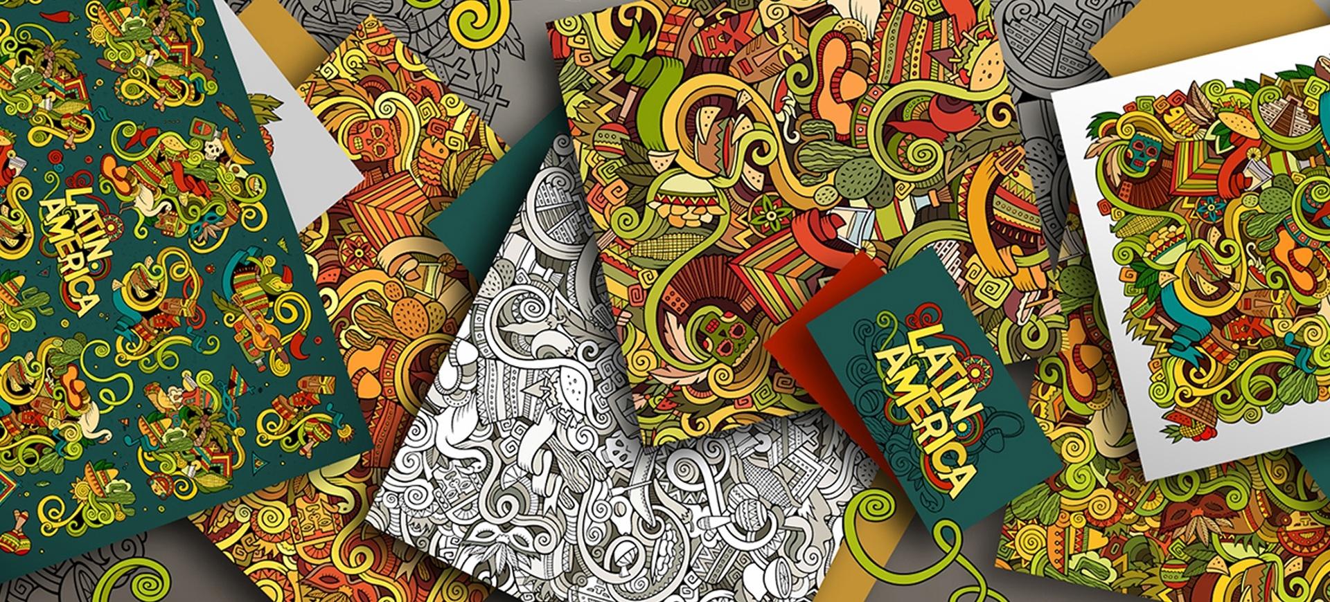 39+ Doodle Patterns & Backgrounds   Free & Premium Templates - Free Printable Doodle Patterns