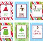 39 Sets Of Free Printable Christmas Gift Tags   Free Printable Holiday Labels