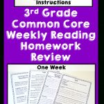 3Rd Grade Reading Homework Bundle | Reading Comprehension Review   Free Printable Read Naturally Passages