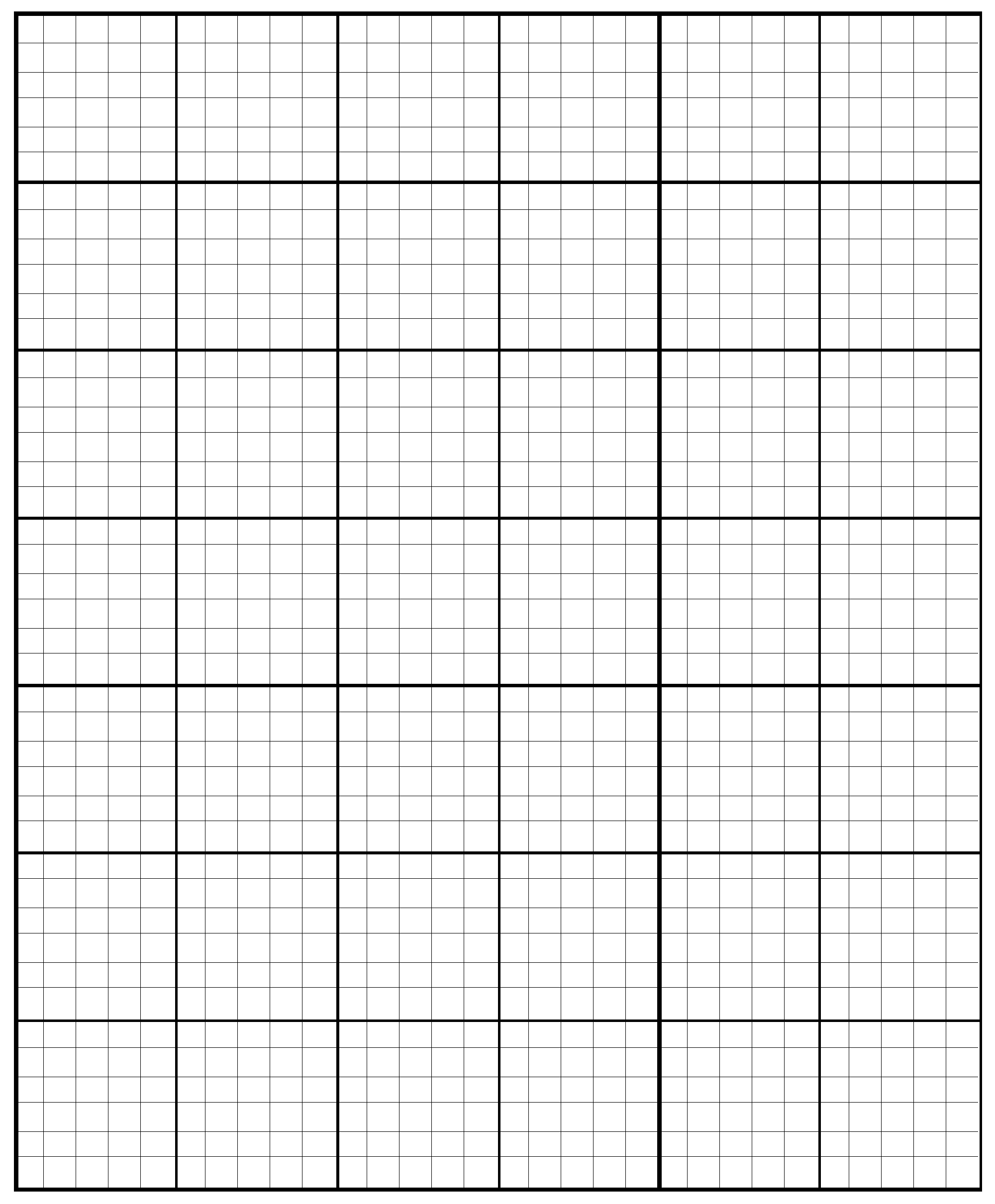 4+ Printable Large Graph Paper Template | Free Graph Paper Printable - Free Printable Graph Paper For Elementary Students