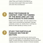 4 Simple Bible Study Steps | God's Word | Scripture Study, Bible – Free Printable Bible Study Guides