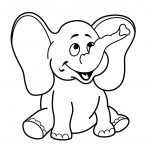 4 Year Old Worksheets Printable Coloring Elephant | Preschool   Free Printable Coloring Pages For 2 Year Olds