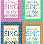 40 Fabulously Free Bathroom & Laundry Room Printables   Free Printable Wall Art For Bathroom