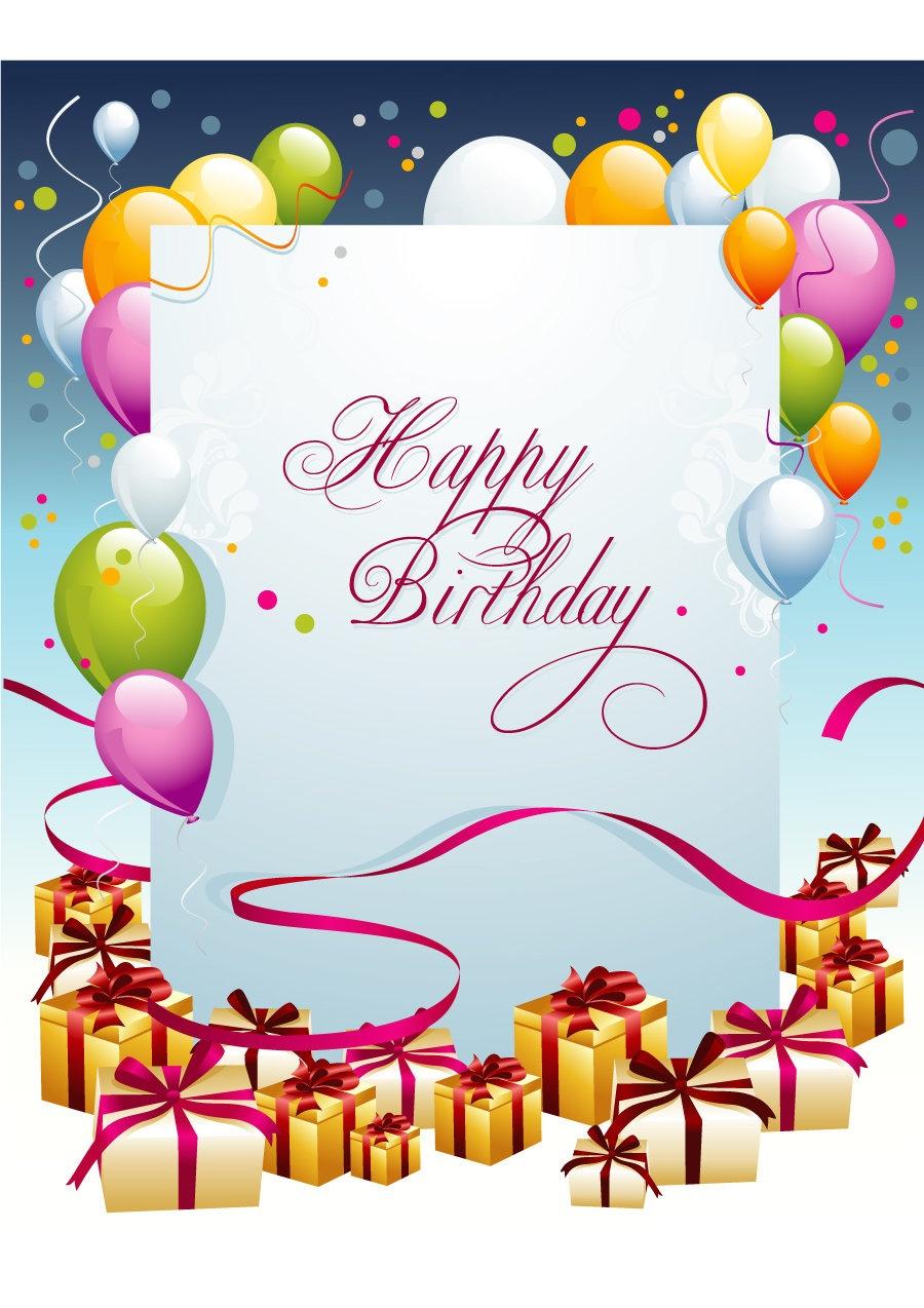 40+ Free Birthday Card Templates ᐅ Template Lab - Free Printable Greeting Card Templates