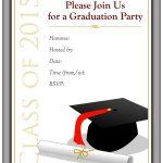 40+ Free Graduation Invitation Templates ᐅ Template Lab   Free Printable Graduation Invitation Templates