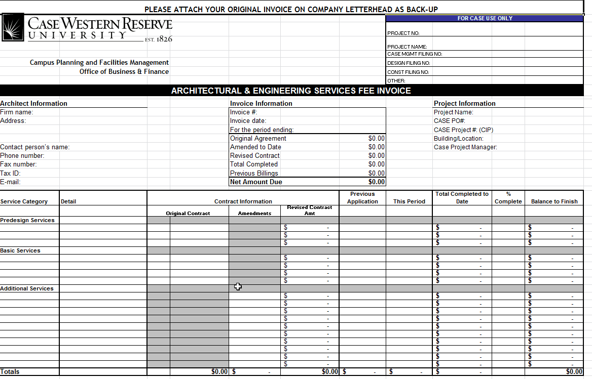 40+ Invoice Templates: Blank, Commercial (Pdf, Word, Excel) - Free Printable Invoice Template Excel