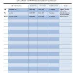 40+ Printable Call Log Templates In Microsoft Word And Excel   Free Printable Call Log Form