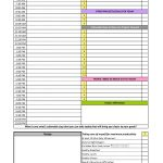 40+ Printable Daily Planner Templates (Free) ᐅ Template Lab   Free Printable Daily Schedule Chart