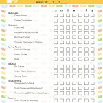 40 Printable House Cleaning Checklist Templates ᐅ Template Lab   Free Printable Housework Checklist