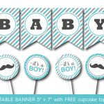 44 Cool Banner Letters   Kittybabylove   Free Printable Baby Shower Banner Letters