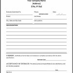 44 Free Estimate Template Forms [Construction, Repair, Cleaning]   Free Printable Job Quote Forms