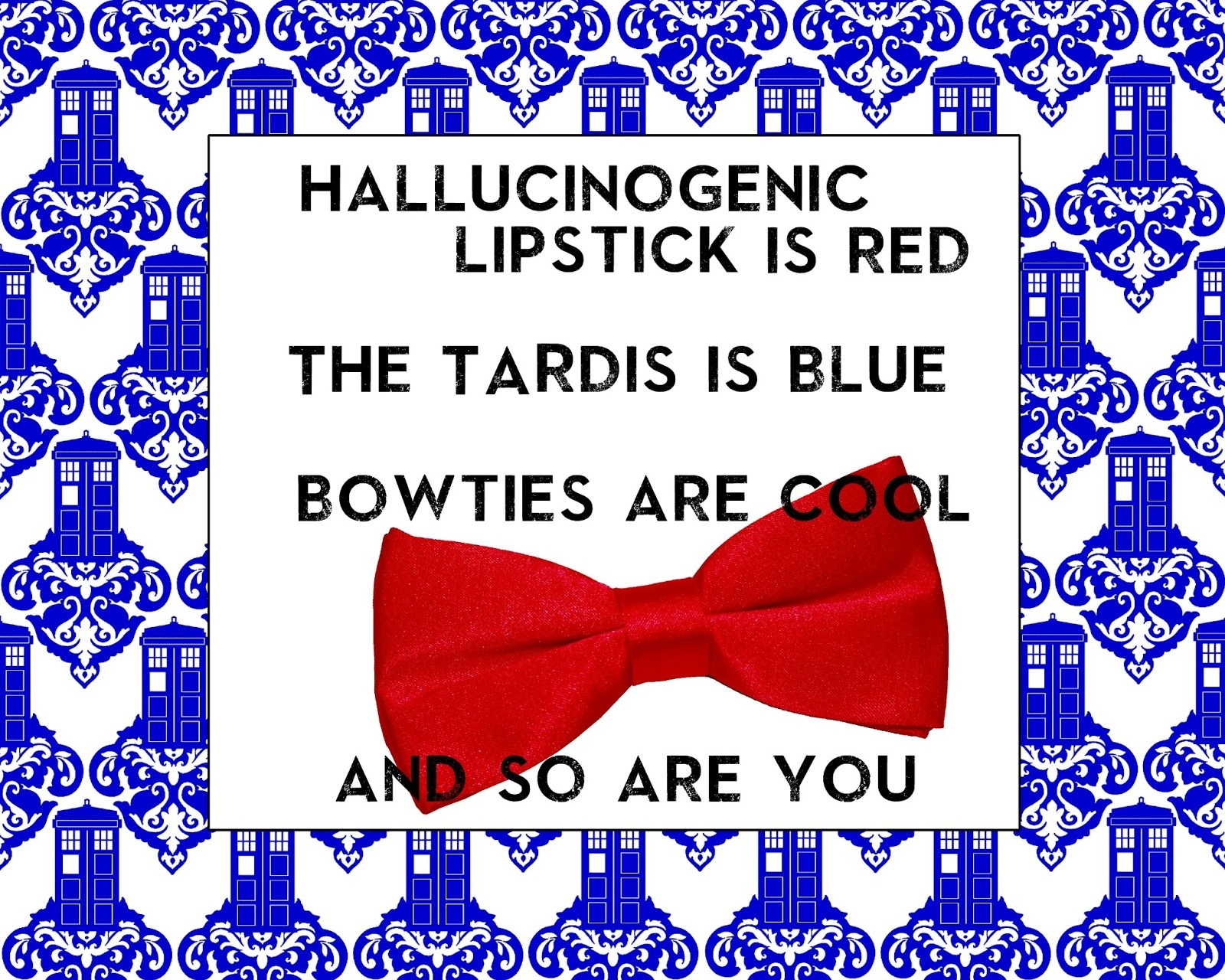 45 Doctor Who Inspired Valentine's Day Printables! - Free Printable Doctor Who Valentines