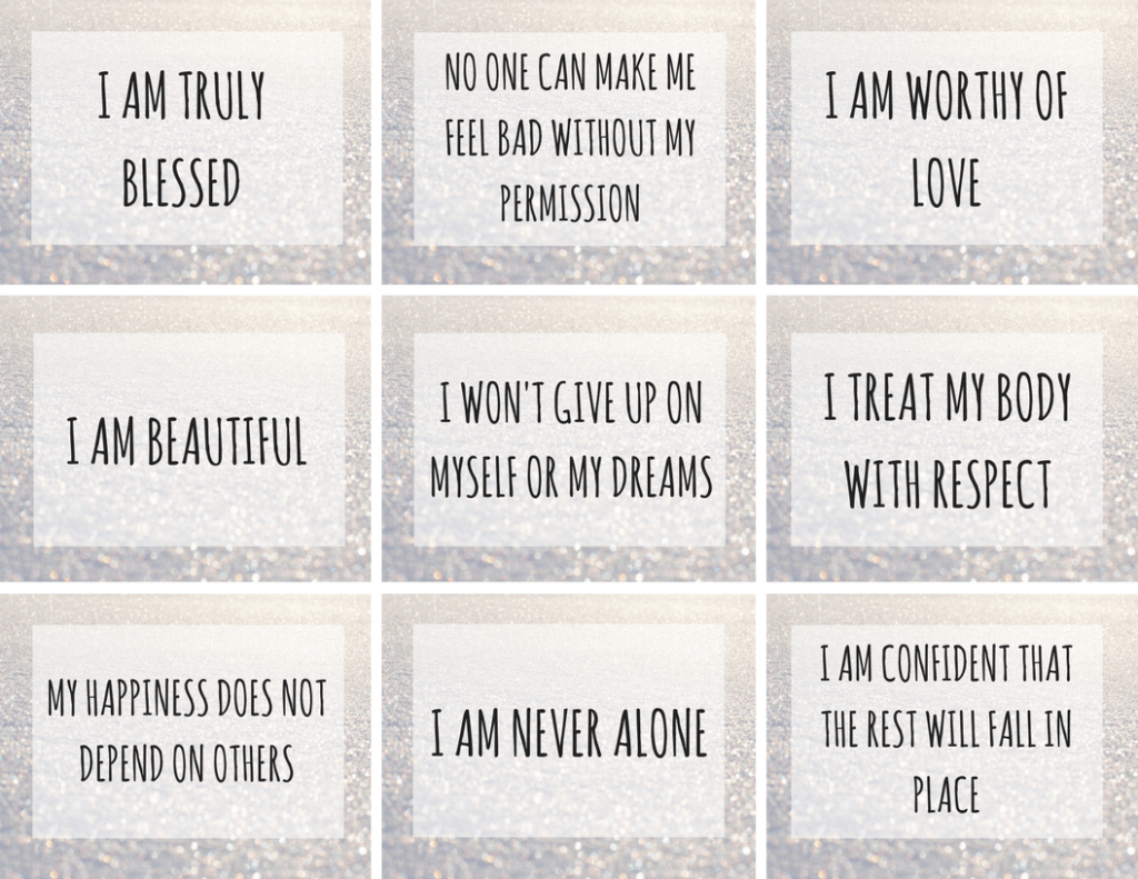 45 Incredible Positive Affirmations For Kids | | Littles, Life - Free Printable Positive Affirmation Cards