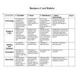 46 Editable Rubric Templates (Word Format) ᐅ Template Lab   Free Printable Blank Rubrics