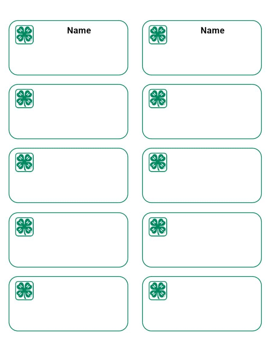 47 Free Name Tag + Badge Templates ᐅ Template Lab - Free Printable Name Tags For Preschoolers