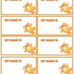 47 Free Name Tag + Badge Templates ᐅ Template Lab   Name Tag Template Free Printable